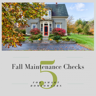 5 Fall Maintenance Checks