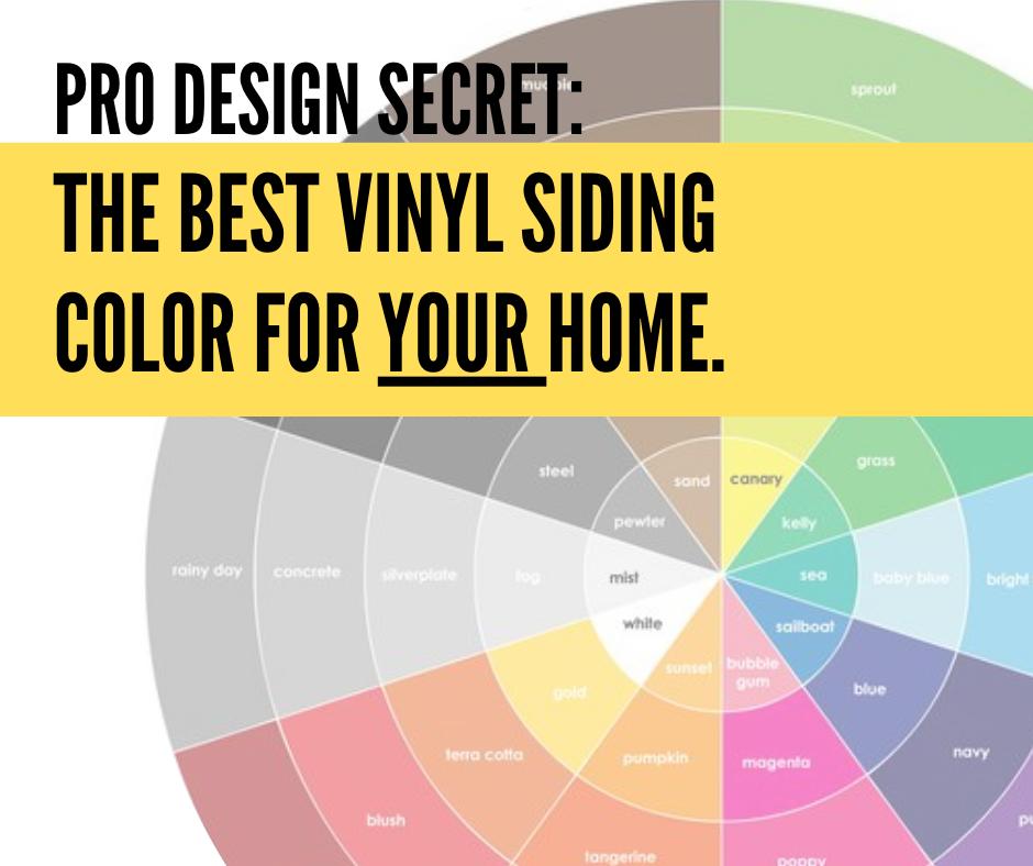 Choose Vinyl Siding Colors Like a Pro