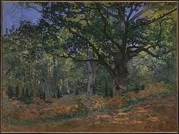 Painting of Claude Monet's