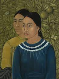 Frida Kahlo's Two Women